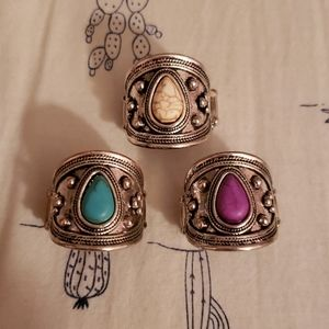 Bundle of 3 rings